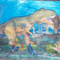 ديناصورات ( كتاكيت ورق)