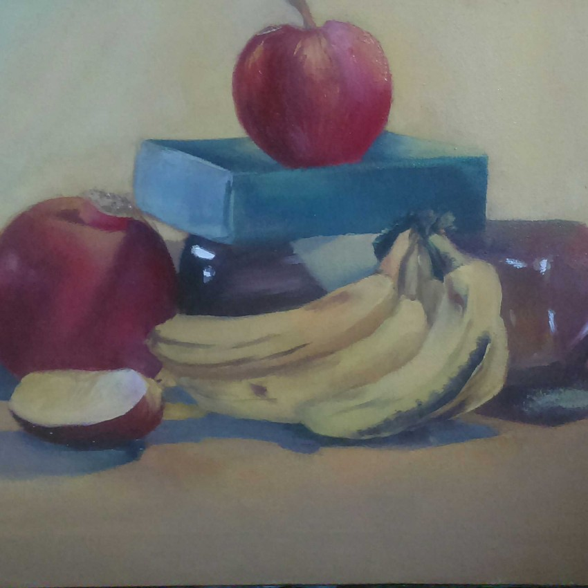 Still Life ( Oil Colors )
