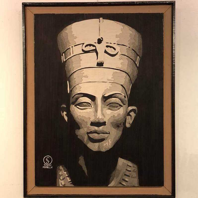 Nefertiti  (Wood Veneer)