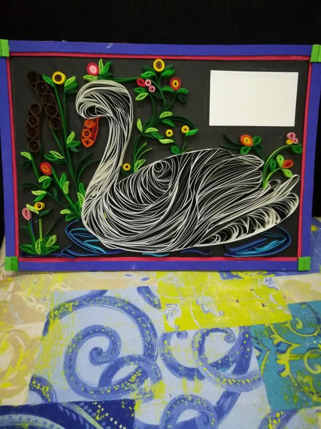 (بجعة  (فن خامة الورق
