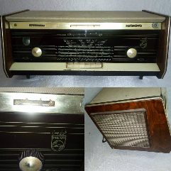 Antique Phillips Radio