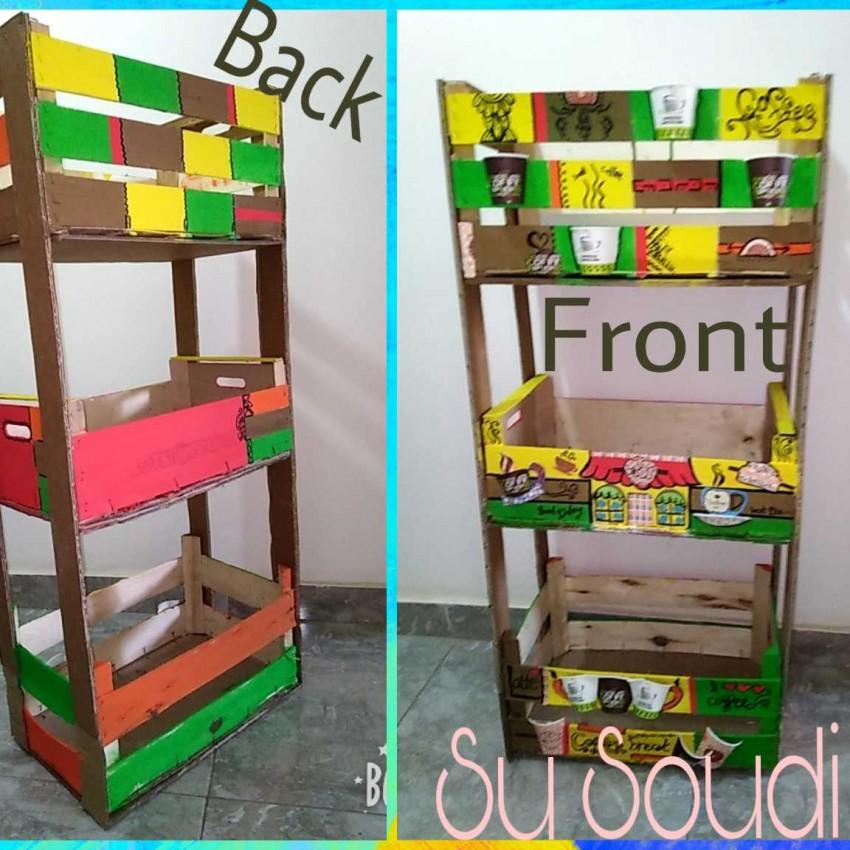 صندوق خشب- وحدة تخزين