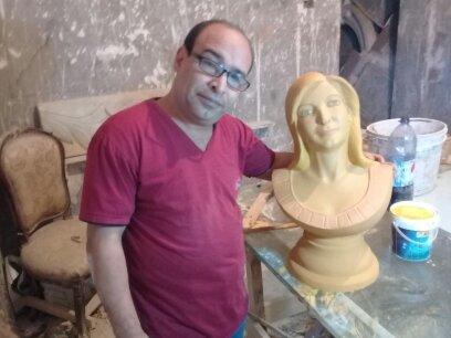 بورتريه شخصي ( تمثال فايبر)