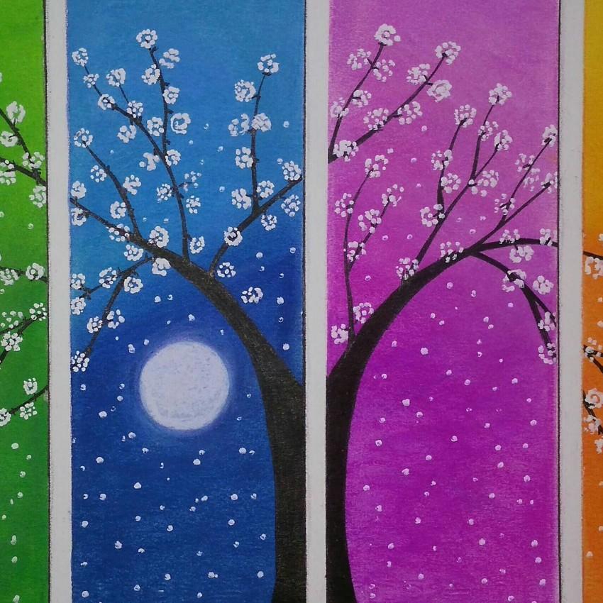 شجرة الزهور