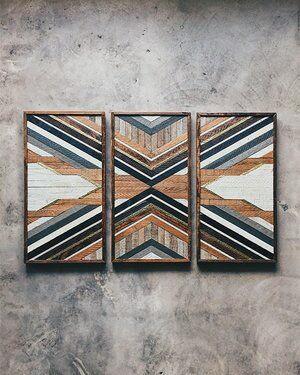 برواز خشبي 3 قطع