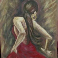 راقصة لاتينية