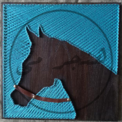 (حصان (فن الخيوط