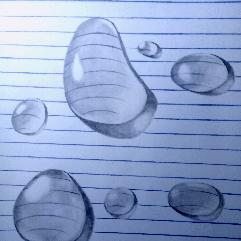 قطرات مياه ثري دي
