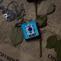 Book Necklace (Embroidery)