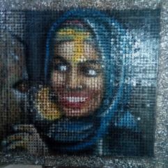 (الفلاحة المصرية ( فن المسامير