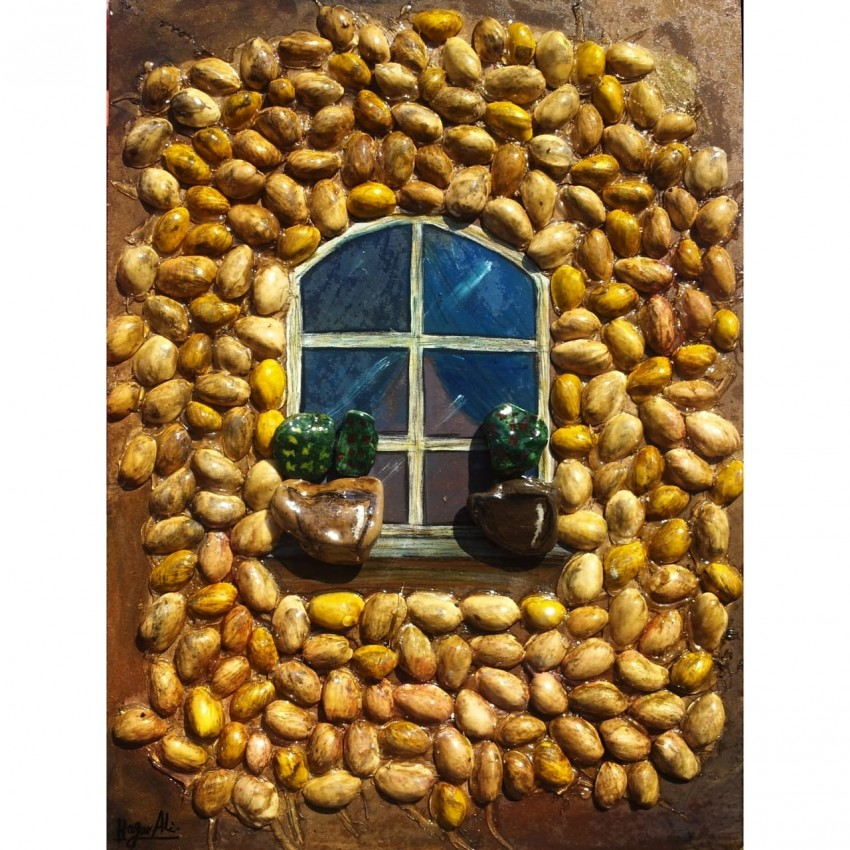 Fabulous Window (Pistachio Peel & Stones)