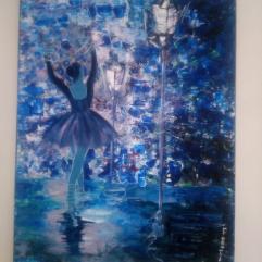 الرقص تحت المطر
