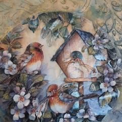 (بيت الطيور (ديكوباج