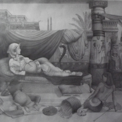 موت كليوباترا