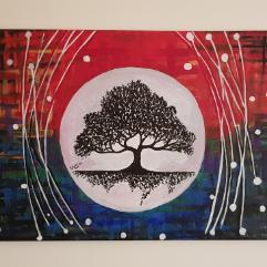 شجرة  القمر