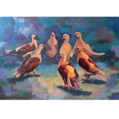 A Group Of Doves