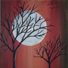 وهج القمر