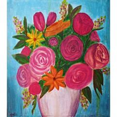 فازة الزهور