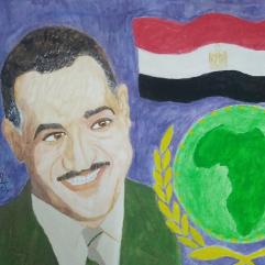 جمال عبد الناصر زعيم أفريقيا