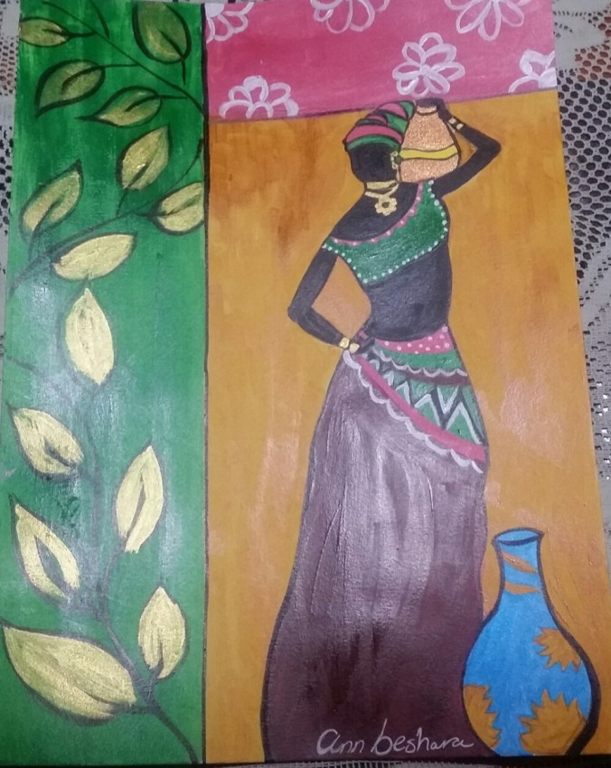 African Countryside Woman