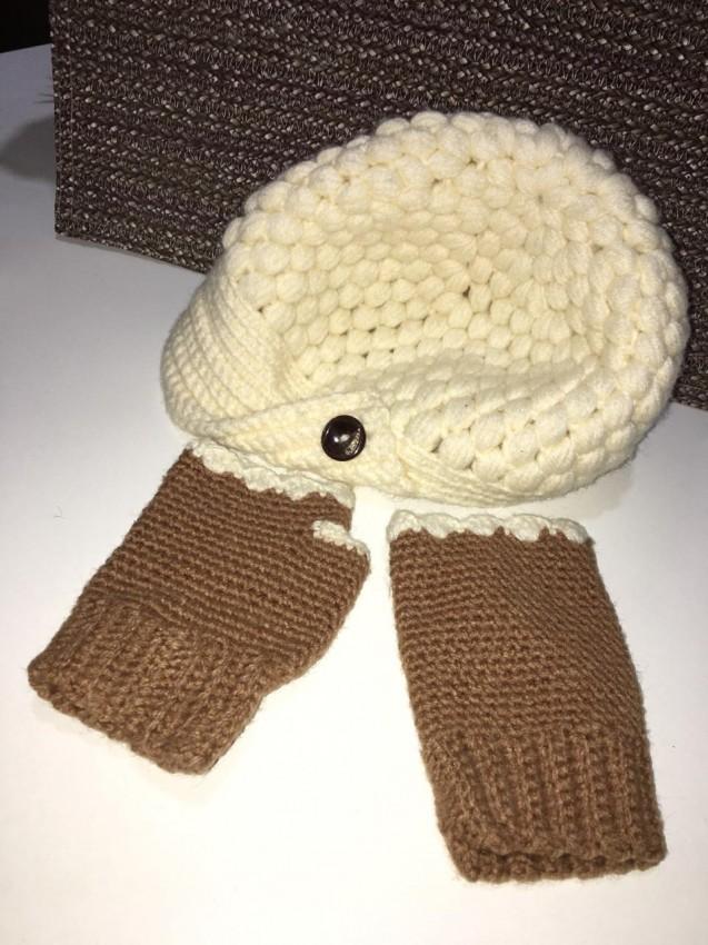 Wool Cap & Gloves