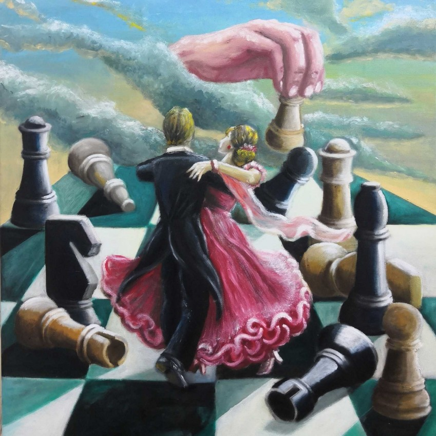Dancers On The Chessboard