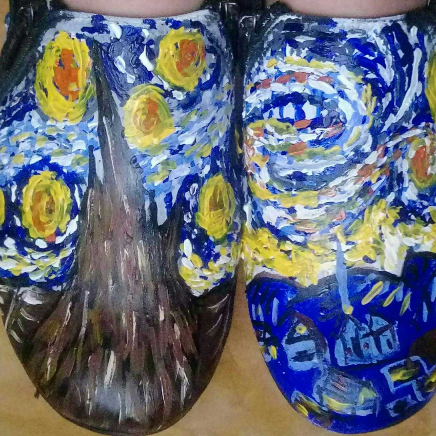 Painting On Shoes