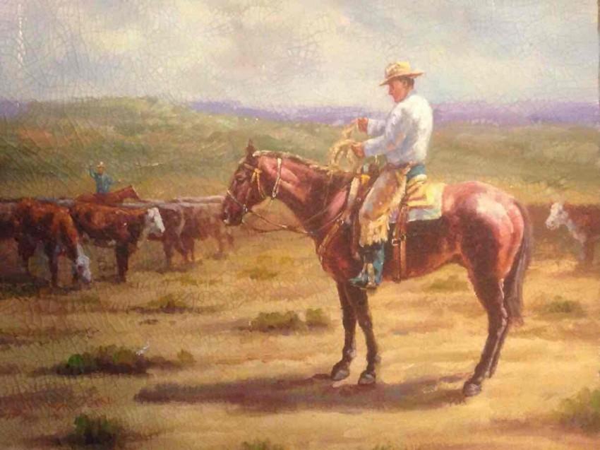 راعي البقر