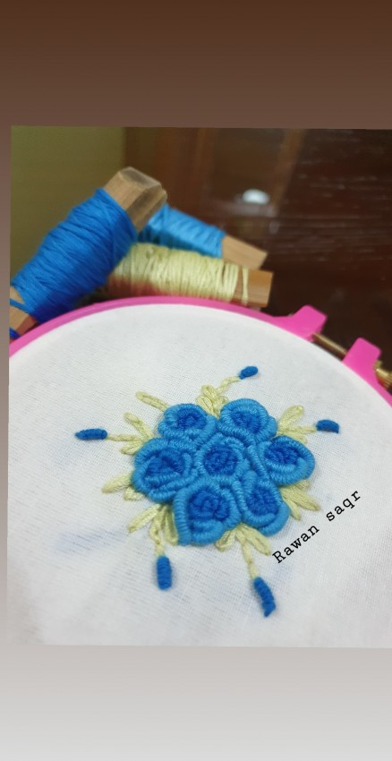 Foral Embroidery