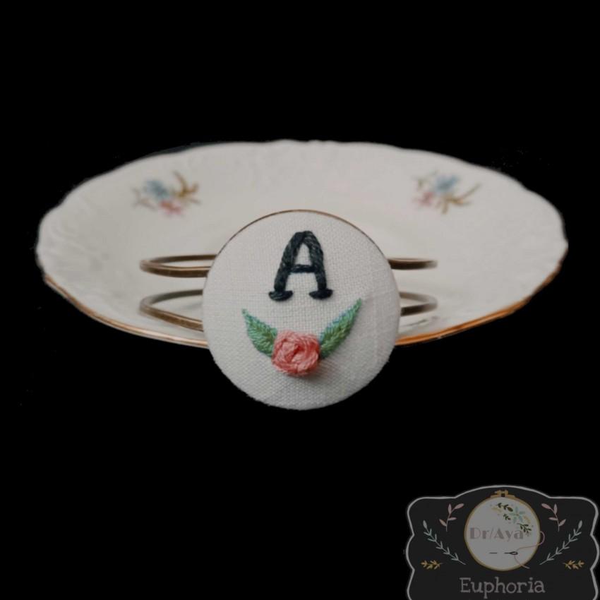 Handmade Embroidered Bracelet