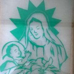 السيده العذراء والسيد المسيح