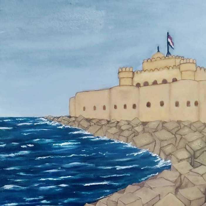 Qaitbay Castle in Alexandria