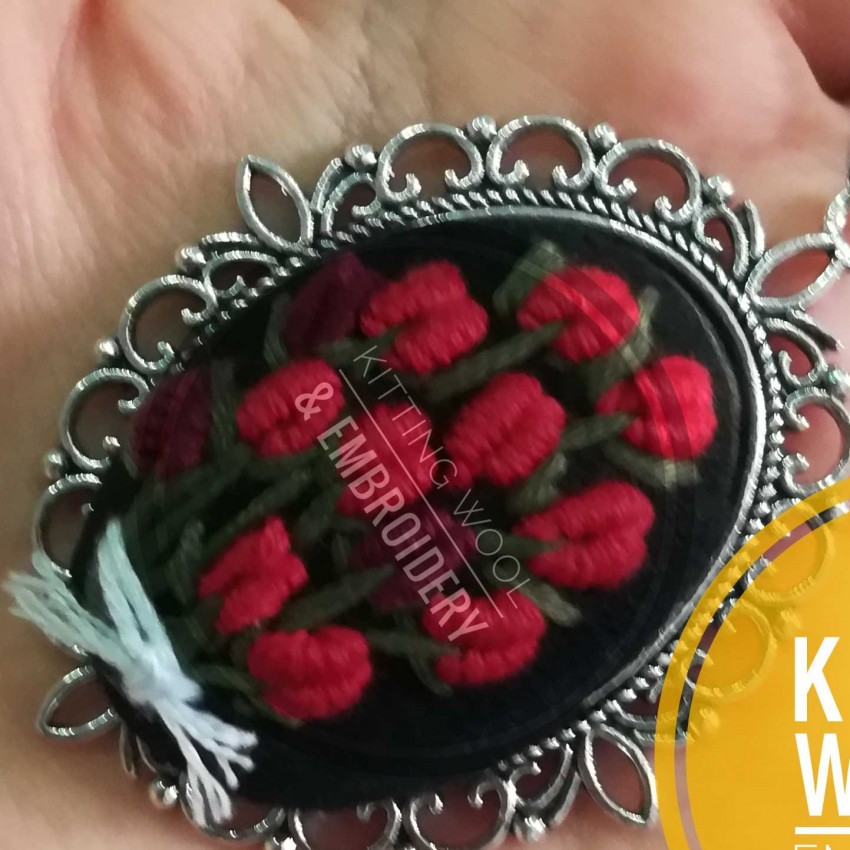 Necklace By Embroidery