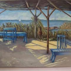 Fishermen's Cafe, El Manzala Lake
