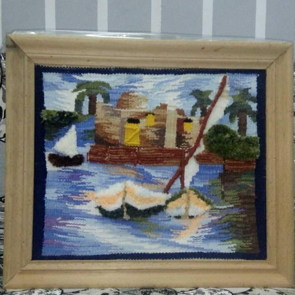 (نهر النيل (عمل يدوي بالابرة