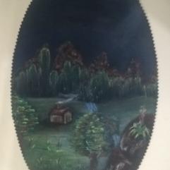 Oval Landscape