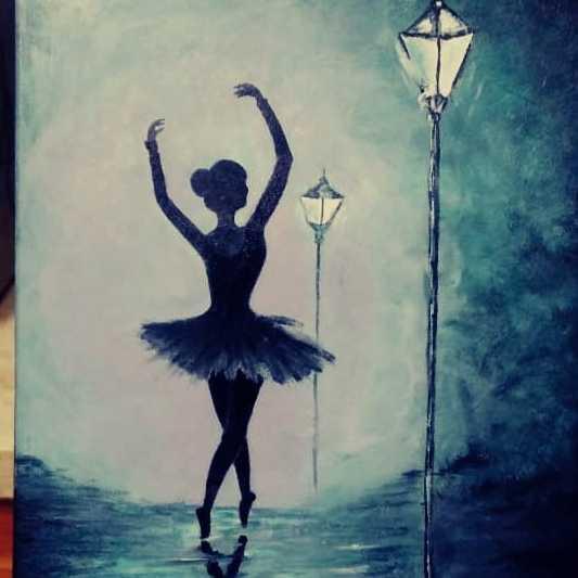 راقصة الباليه