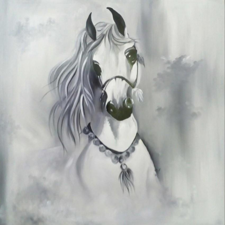 الحصان الأبيض
