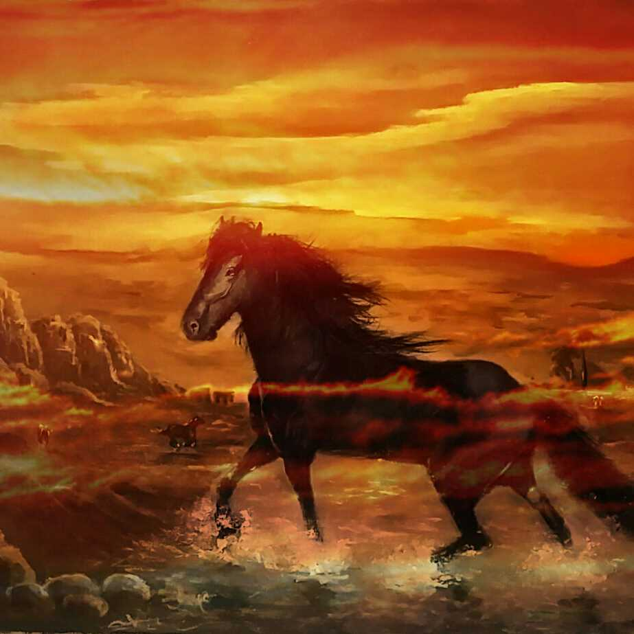 وادى الخيول