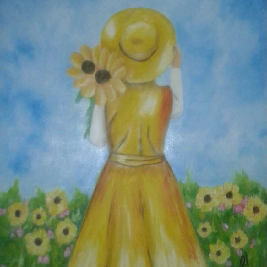 زهرات عباد الشمس