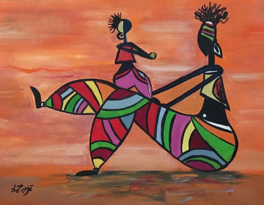 ام افريقية و ابنتها