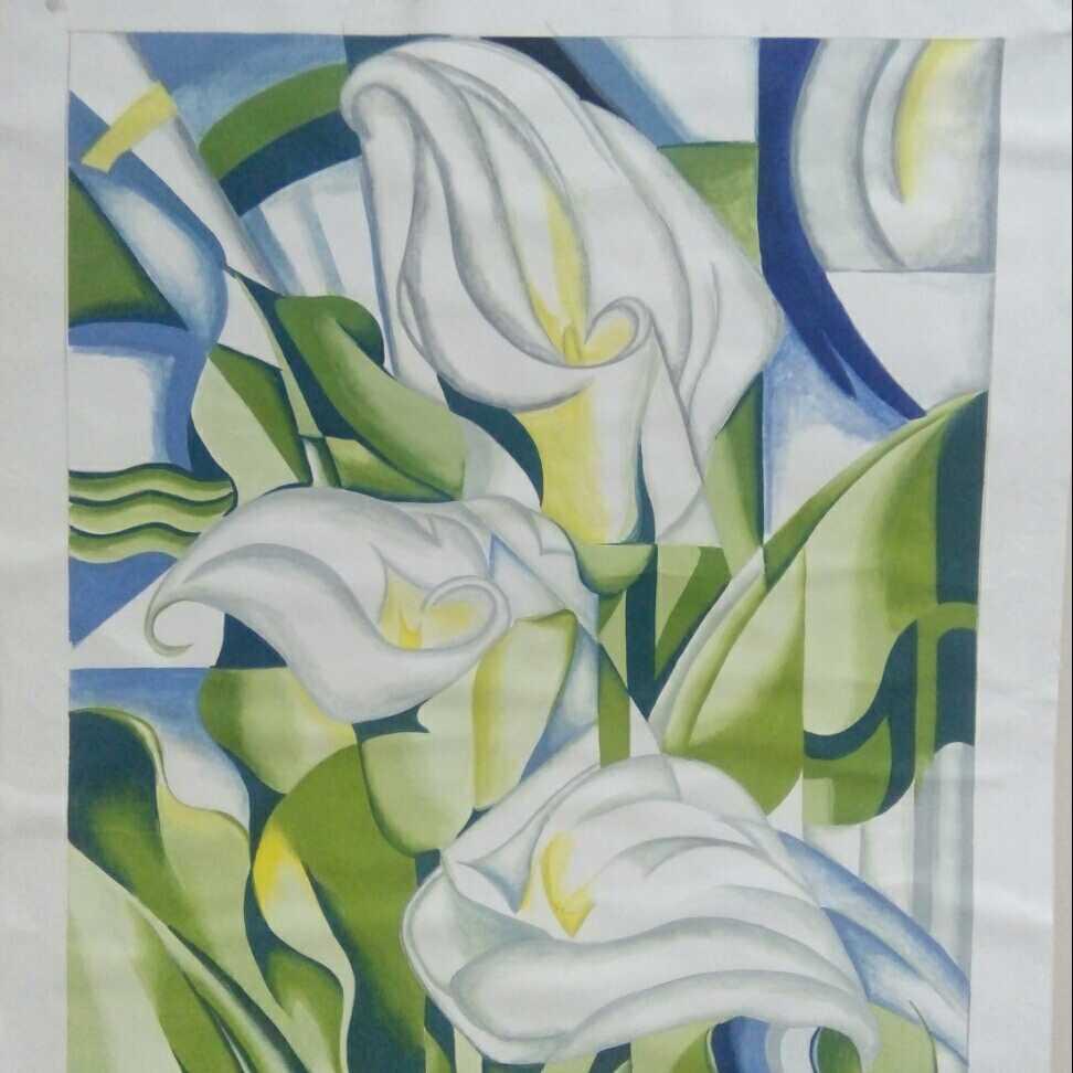 (زهور (فن تجريدي