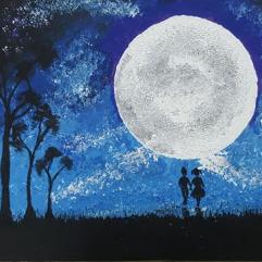 تحت القمر