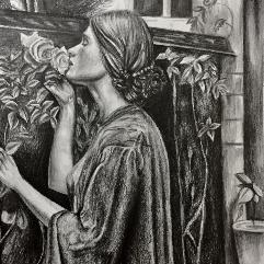 (السيدة التي تشم الزهور (منسوخة