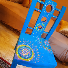 Mandala Wooden Chair