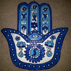 Blue Hand Palm
