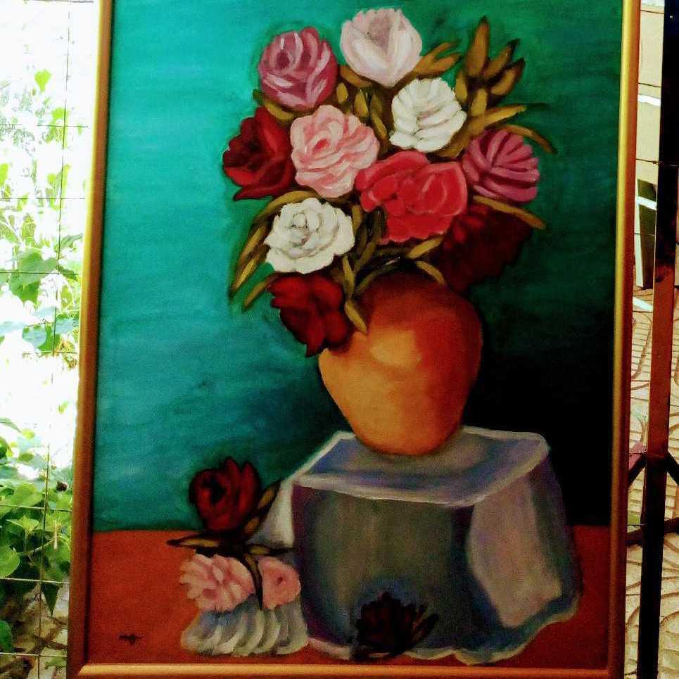 تابلوه الزهور