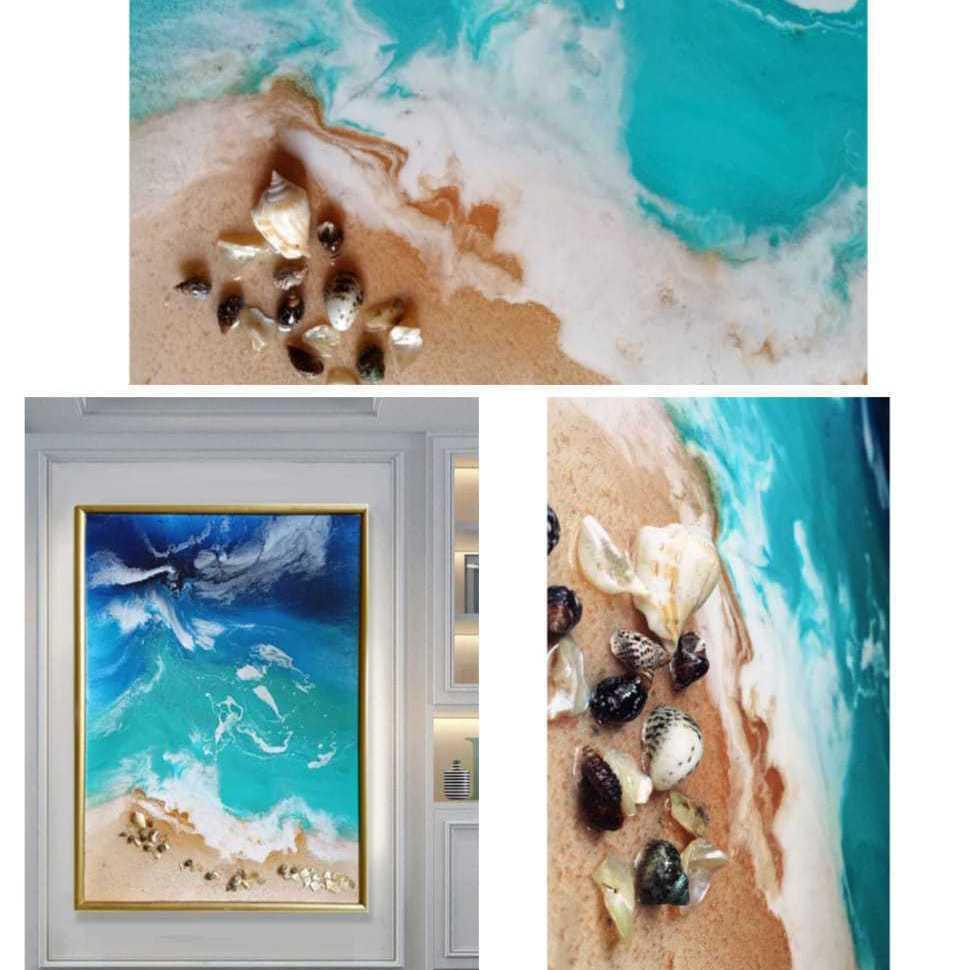 Beauty Of The Sea (Resin Art)
