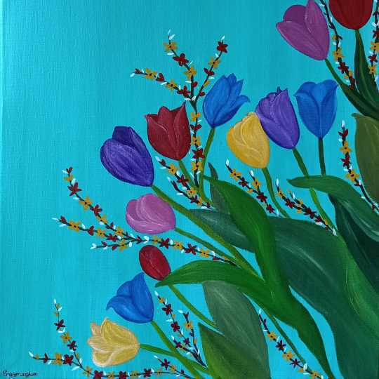 Tulip Flowers' Breath