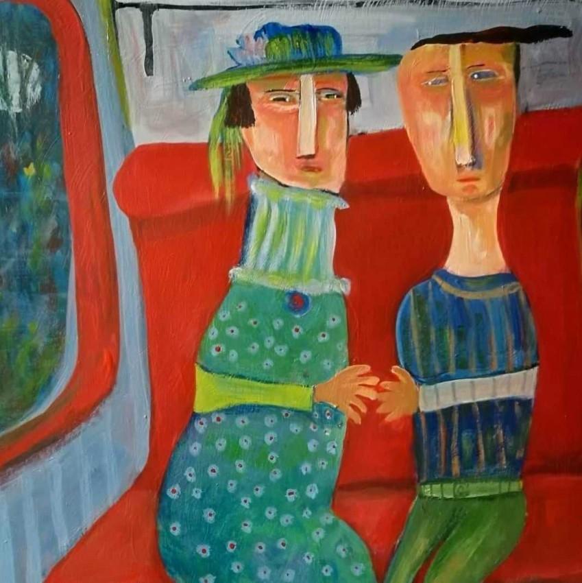 اثنان في القطار